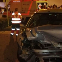 Accidente múltiple en Almendralejo (Badajoz)