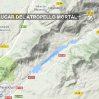 Atropello mortal en el norte de Cáceres