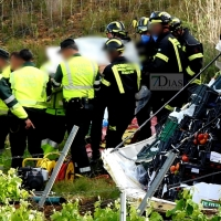 Accidente mortal en la carretera EX-300