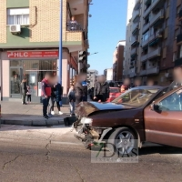 Accidente múltiple en la 'autopista' de Badajoz