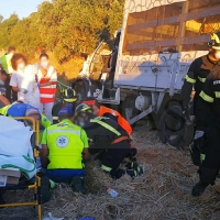 Accidente de tráfico mortal en la carretera EX-111