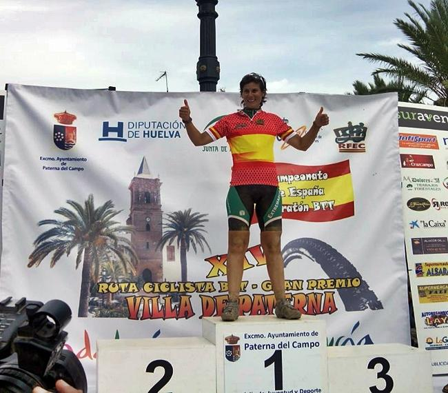 La extremeña Alicia Campanon, Campeona de España de Maratón btt
