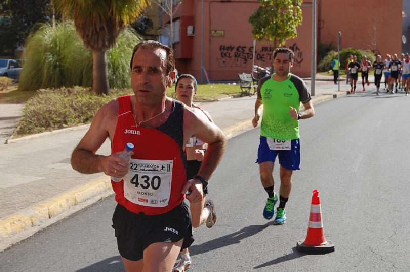 Imágenes de la Maratón Ciudad de Badajoz