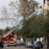 Ciclogénesis explosiva Gong a su paso por Badajoz