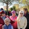Mayores y niños buscan el tesoro perdido en la Alcazaba