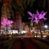 Encendido del alumbrado navideño en Badajoz