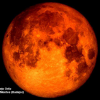 Así se ha visto el eclipse total de Luna en Extremadura