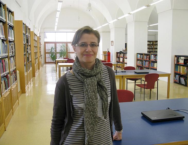 Julia Inés Pérez, nueva directora de la Biblioteca de Extremadura