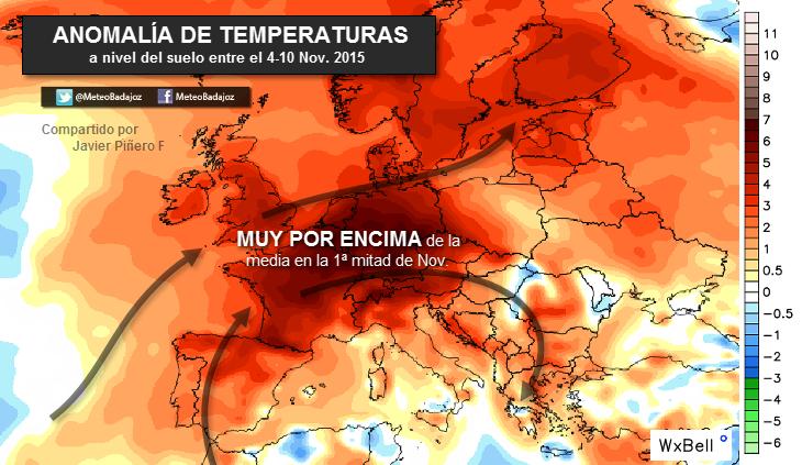 España registra esta semana temperaturas máximas de récord ¿A qué se deben?