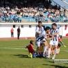 Mejores imágenes del encuentro entre el CD Badajoz y el Arroyo CP