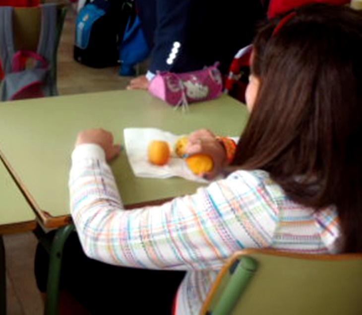 Publicadas las ayudas para la distribución de frutas y hortalizas en colegios