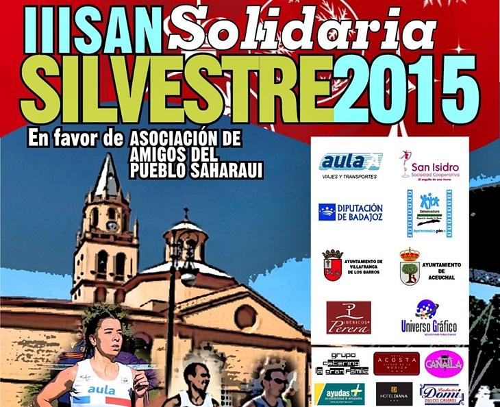 La San Silvestre de Villafranca de los Barros premiará el mejor disfraz