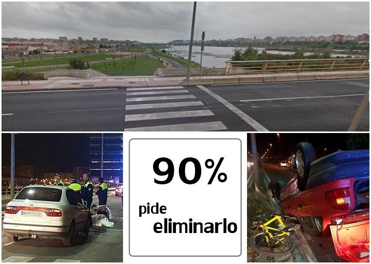 El 90% de los lectores no quieren el paso de peatones del Puente Real