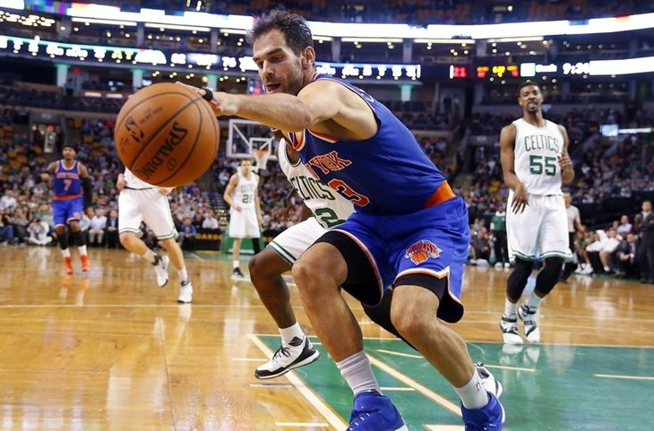 Partido para olvidar de Calderón frente a Boston Celtics
