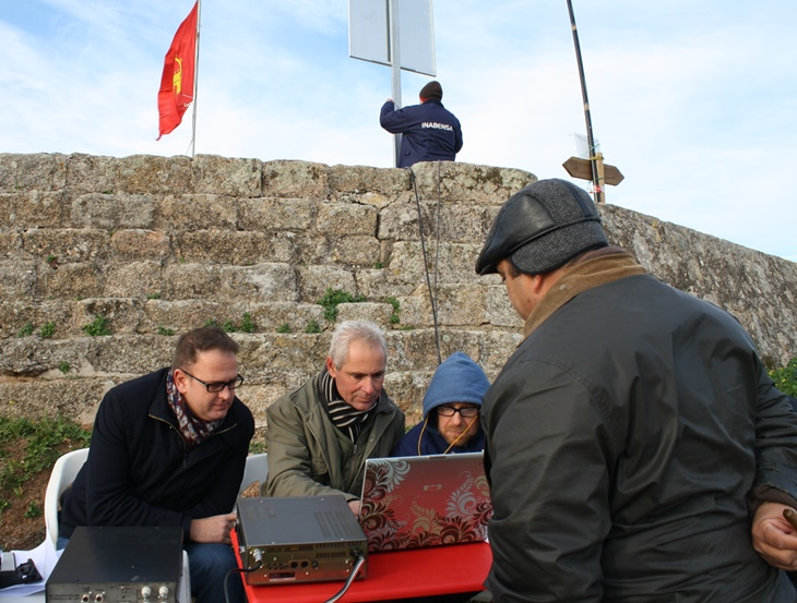 Los radioaficionados promocionan la presa de Proserpina