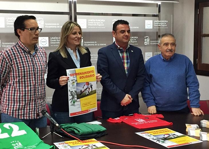 Villanueva de la Serena celebrará un 'entrenamiento solidario'