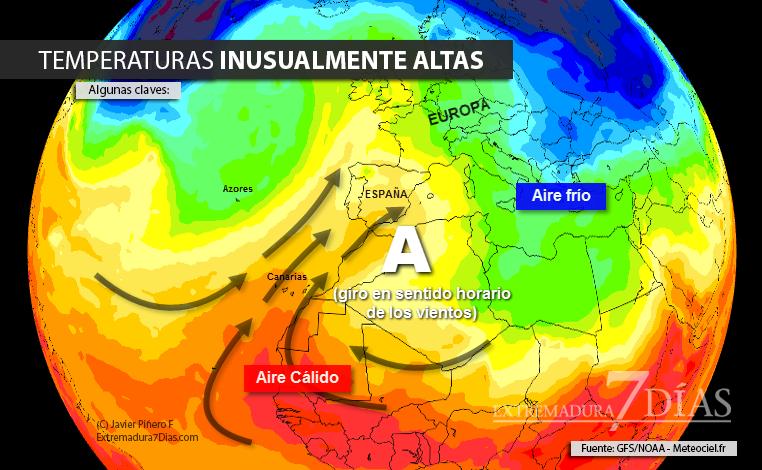 El otoño se despide con la llegada de una inusual masa de aire cálido a España