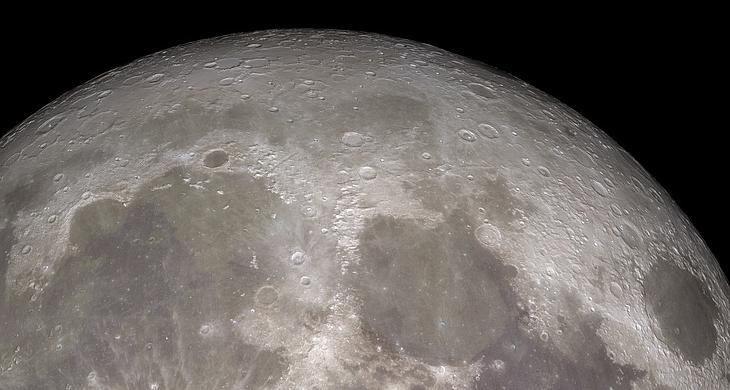 La primera Luna llena en Navidad desde 1977