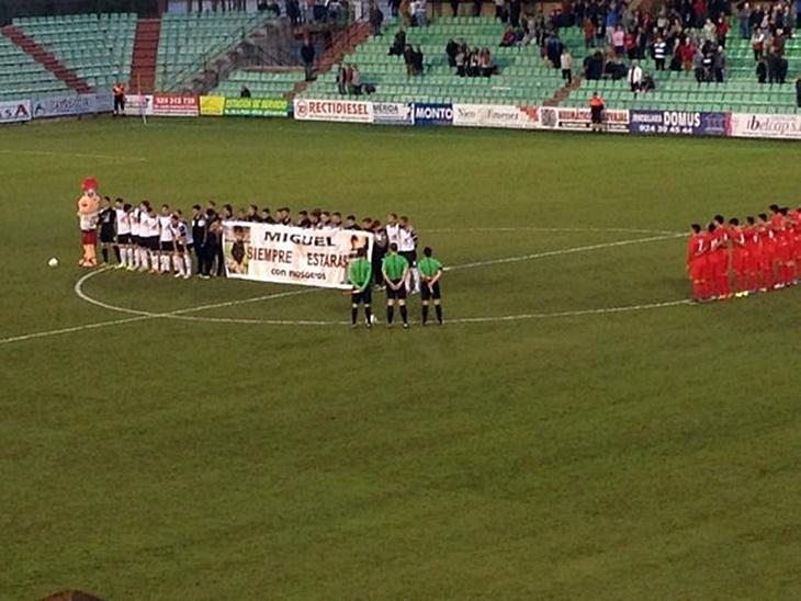 Nuevo empate del Mérida frente al filial sevillista