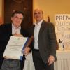 Luis Landero recibe en el Parador de Zafra el Premio Dulce Chacón