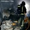 Una estufa provoca el incendio de una vivienda de Badajoz