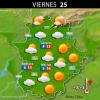 Previsión meteorológica en Extremadura. Días 24, 25 y 26 de diciembre