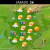 Previsión meteorológica en Extremadura. Días 25, 26 y 27 de diciembre