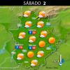 Previsión meteorológica en Extremadura. Días 31 de diciembre, 1 y 2 de enero