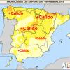 Noviembre 2015 ha sido seco y muy cálido en España