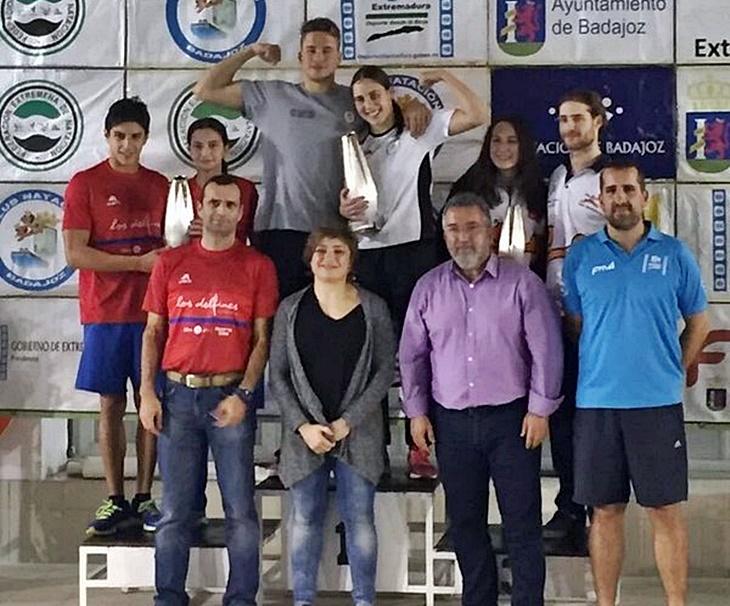 Grandes actuaciones en el Campeonato de Extremadura de Natación