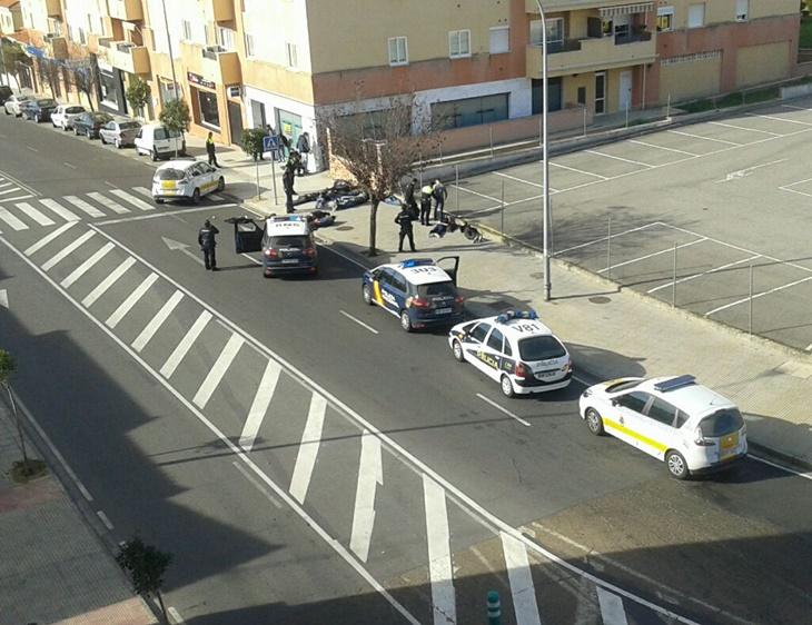 Quejas en el seno de la policía tras la pelea entre aficionados del Mérida y Cádiz