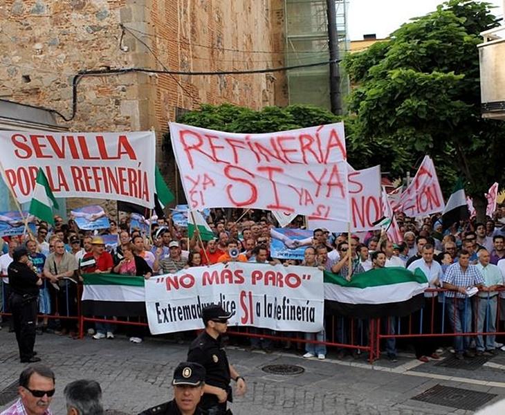 La Junta da carpetazo al proyecto de Refinería de Tierra de Barros