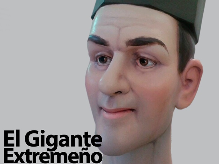 Presentan un vídeo con la historia del 'Gigante Extremeño'