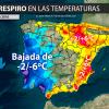 Las temperaturas bajarán más de 5 grados este fin de semana