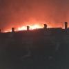Imágenes y vídeo del incendio en Navalmoral de la Mata (Cáceres)
