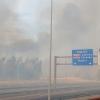 Un incendio de grandes dimensiones afecta a Badajoz desde Portugal