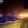 Situación actual del incendio en la Frontera de Caya (Badajoz)