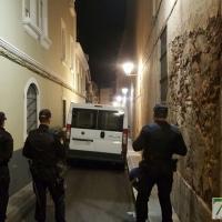 Operación antidroga en el Casco Antiguo de Badajoz