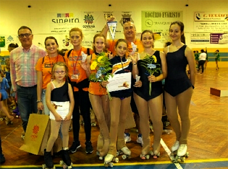 Extremadura consigue 3 oros en el Trofeo Internacional de patinaje