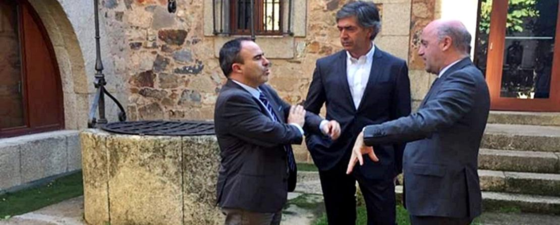 Extremadura refuerza su colaboración con el centro de Portugal