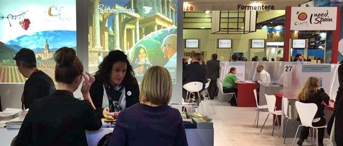 Extremadura participa en la principal feria turística de Reino Unido