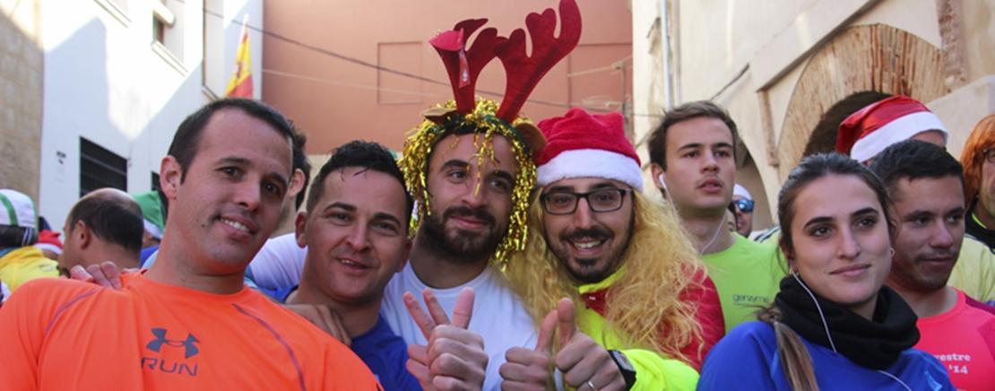 Badajoz cierra 2016 a ritmo de la San Silvestre