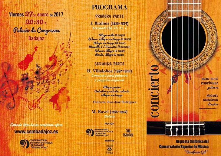 La Orquesta Sinfónica del Conservatorio pone fin a sus 'encuentros' con un concierto