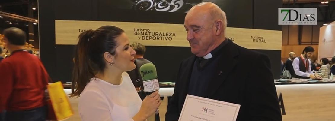 Israel homenajea al cura extremeño Valeriano Domínguez