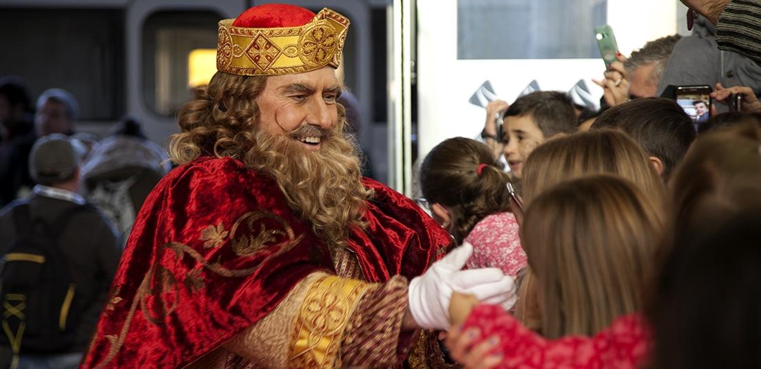 Los Reyes Magos de Oriente llegan a Badajoz