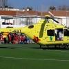 Un menor es trasladado al Infanta Cristina en estado grave
