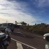 Herido grave en la colisión entre un turismo y una furgoneta