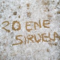 Ligera nevada en zonas altas del este de Badajoz la pasada noche