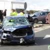 Dos mujeres atrapadas en un accidente en Tierra de Barros