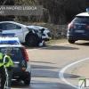 Imágenes de la accidentada persecución policial por las calles de Badajoz